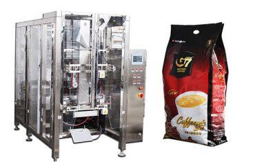 автоматическая машина для упаковки пакетов с четырьмя уплотнениями