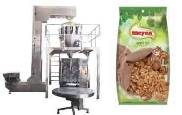 вертикальная упаковочная машина для орехов