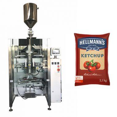 Упаковочная машина для упаковки кетчупа 500 г-2 кг